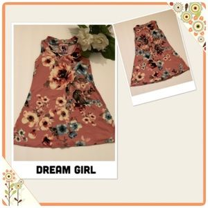 Toddler Girl Floral Print Dress by Dreamgirl